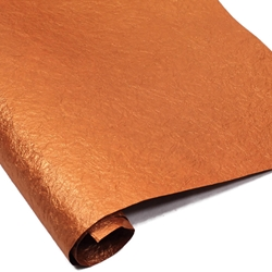 Indian Cotton Rag Paper - Crinkle - COPPER