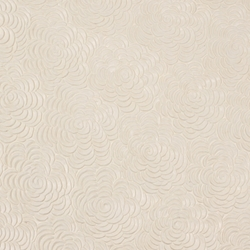 Indian Embossed Paper - CABBAGE ROSE - IVORY