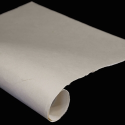 Gampi Paper with Fibers - IVORY - 120GSM