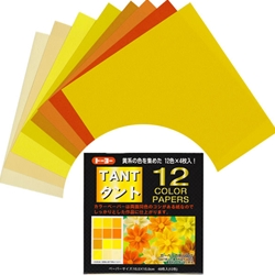 Tant Origami Paper Pack - YELLOWS