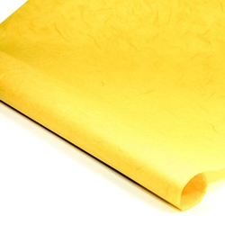 Thai Unryu/Mulberry Paper - BRIGHT YELLOW