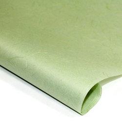 Thai Unryu/Mulberry Paper - GREEN MIST