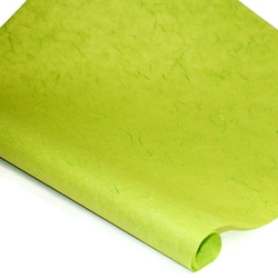 Thai Unryu/Mulberry Paper - LIME GREEN